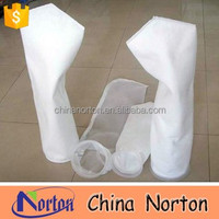White color mesh filter waterproof nylon cloth dust filter bag/bag filter NTM-F5682H