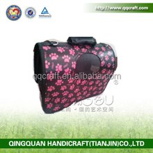 QQ Pet Factory Wholesale Plastic Pet Carrier Bags & Cat Dog Carrier Bag & Insulated Food Animal Carrier Bag
