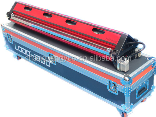 Portable hot vulcanizing press for splicing conveyor belt