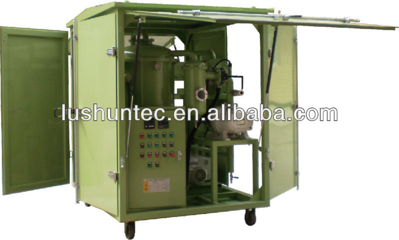waste engine oil refinery to base oil,transformers equipment(ZJA )