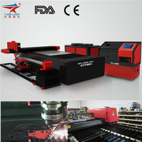 Automatic fabric cutting machine for Brass metal sheet laser cutter