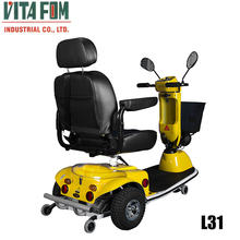 VITAFOM- 3 Wheel Floor cleaning Scooter, Green