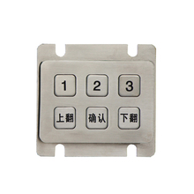 Multifunctional mini customized stainless steel keypad keypad ic for blackberry with CE certificate