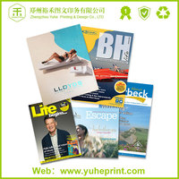 2015 new design softcover high quality printing free adult sex magazine