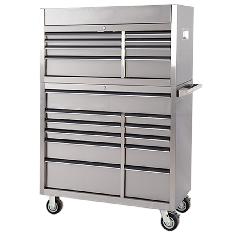 Decorative garden 30 Inches 12 drawers stainless steel hand truck wagon cartTool trolley