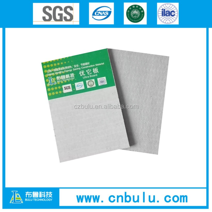 Green building material fireproof MgO Board factory