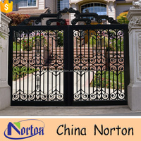 Villa house cast iron gate models NTIRG-101A
