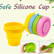 Wholesale Silicone Foldable Washing Cup Collapsible Menstrual Cup Sterilizer For Girls Period FDA