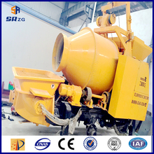 diesel cement mixer pump machine small concrete mixer with pump