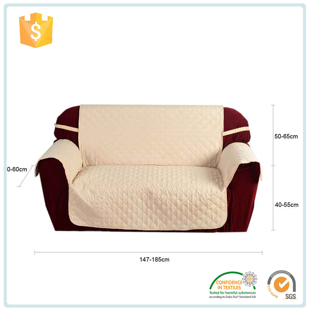 China Goods Wholesale Sofa Slip Covers /Waterproof Sofa Cover Protector