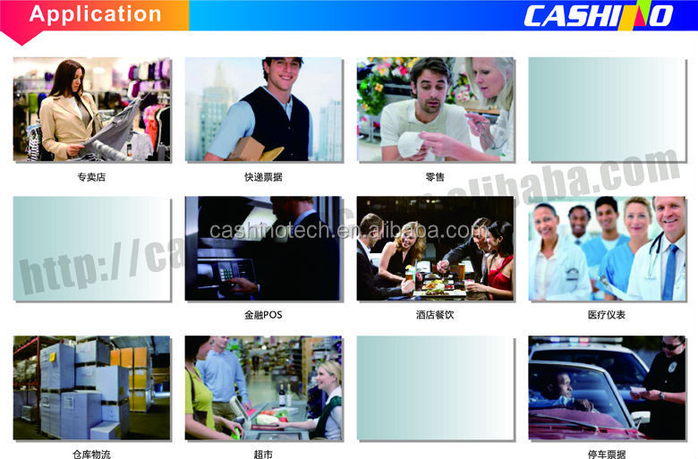 58mm auto-cutter kiosk restaurant billing machine