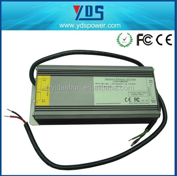 china supplier IP 68 constant voltage 300W 12V LED Driver Power supply with LED Driver power ip65 waterproof outdoor 50w led