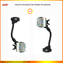 Universal car air vent phone holder para iphone, Samsung, Phones celulares, teléfono móvil porta vasos