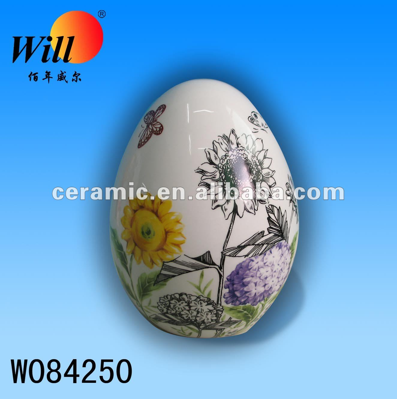 Souvenir Ceramic Easter egg