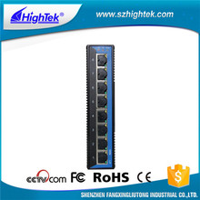 8 port gigabit industrial grade ethernet switch