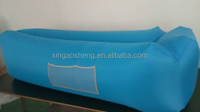 Inflatable Air Lounger Sofa Camping Sleeping lazy Bag Couch Bed Hangout Inflatable Air Sofa Bag