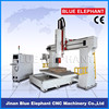 EPS 5 axis cnc router machine, woodworking EPS cnc router center