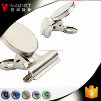 Colorful strong office Neodymium magnets magnetic clip for office use for hot sale
