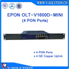 Gigabit Passive Optical Network terminal MINI 4 PON Ports EPON OLT