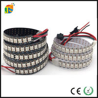 Addressable 5V RGB SMD 5050 Smart IC WS2812B SK6812 144 Pixel Flex Digital LED Strip
