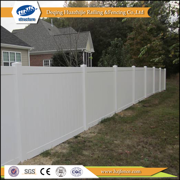 clear privacy white vinyl garden fences