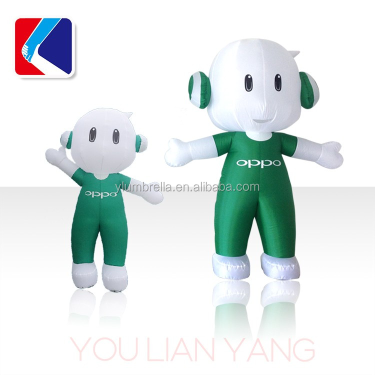OPPO High quality carton, moving carton inflatable,cheap inflatables,inflatable lovely moving cartoon