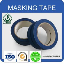 Competitive price colorful customized water base glue masking tape with strong adhesive
