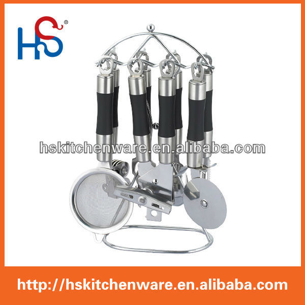 8pcs cookware set in stainless steel HS2199G