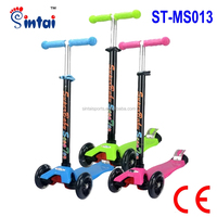 Children Mini Kick 3 Wheel Scooter Mini Kick Scooter with Flashing Wheel
