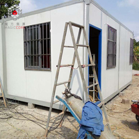 China made low cost flatpack container home house temporary office container home uk for sale