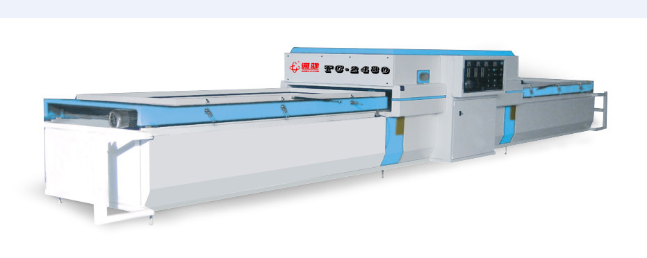 Two working tables PVC automatic plastic vacuum forming machine