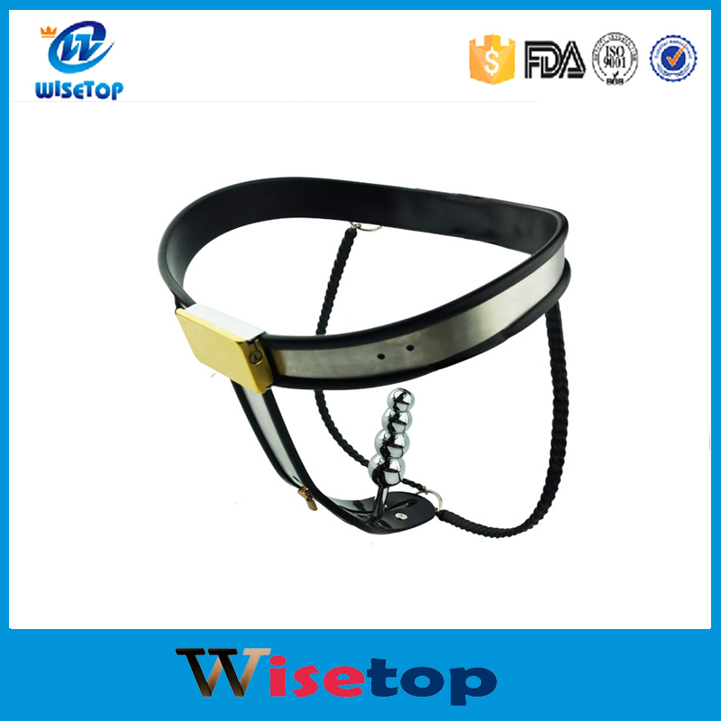 Whole Sale Stainless Steel Female Underwear Chastity Belt For Party