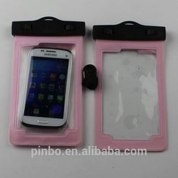 Pvc Waterproof Case For Galaxy Mega 6.3''