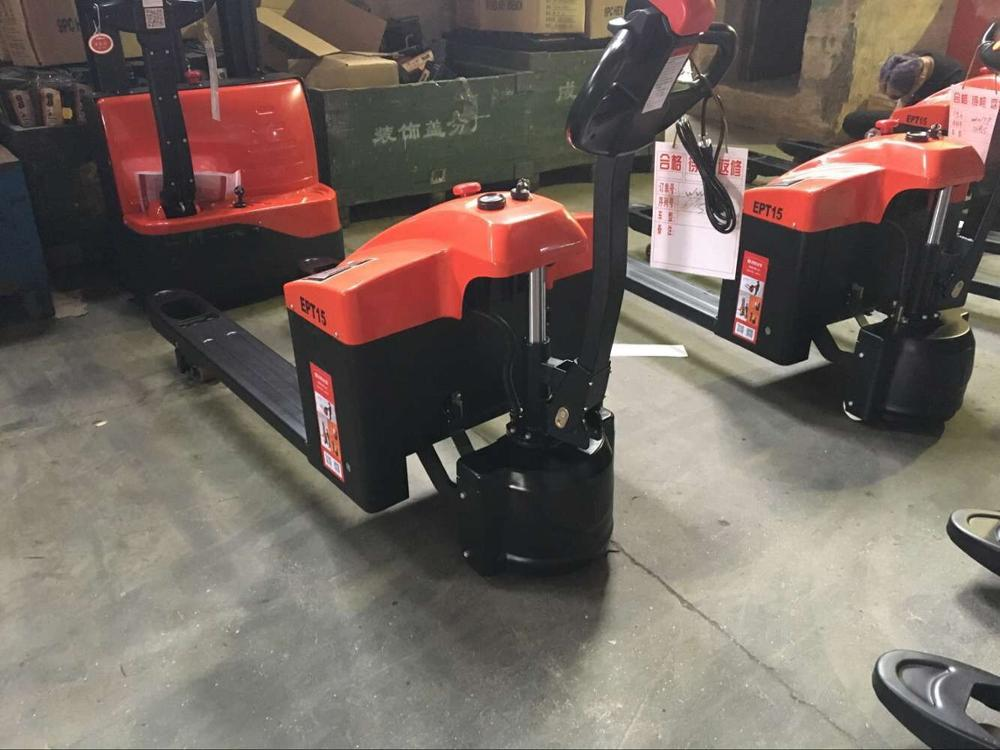Hot Electric Hand Pallet Truck/battery operated pallet truck