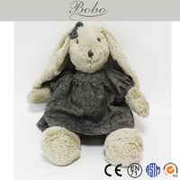 Top Grade Long Hair Dressing Rabbit Toys for Kids