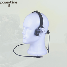 hands free headset walkie talkie bone conductive headset