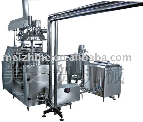 Suppository vacuum emulsifying equipment