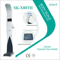 Weight Gurus Scale SK-X80TH Medical Scales WIth Bath Sonicator / Electrical Transducer