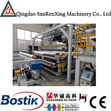 Hot melt adhesive film extrusion laminating machine