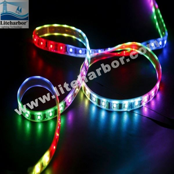 aluminum profile led strip light 12v 5050 RGB Smd 240lm