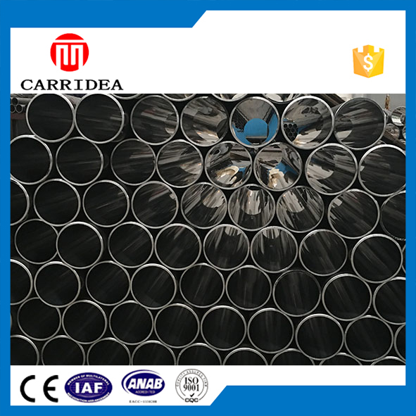 China MS Carbon Steel Pipe Factory Thin Wall Round Steel Tube