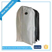 High Quality PP Non Woven Fabric Foldable Mini Dance Competition Clear Garment Bag