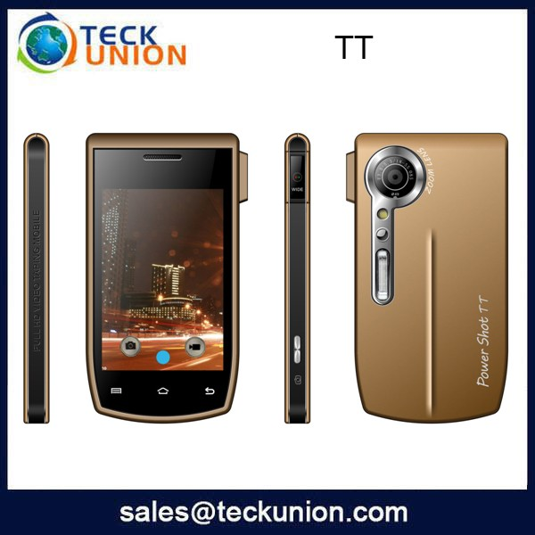 TT 3.5inch touch screen cell phone quad band pda phone support wifi