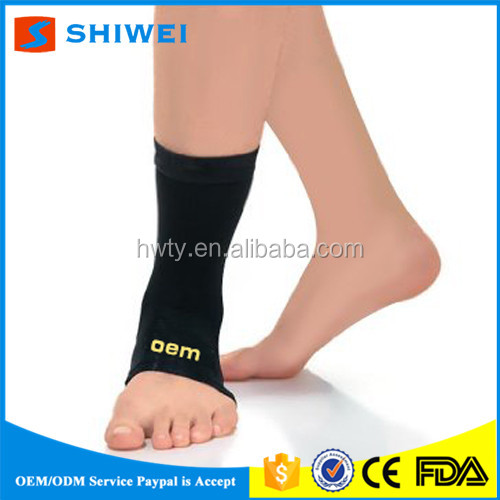 SHIWEI-QA-001#Free sample elastic fitness ankle wraps support