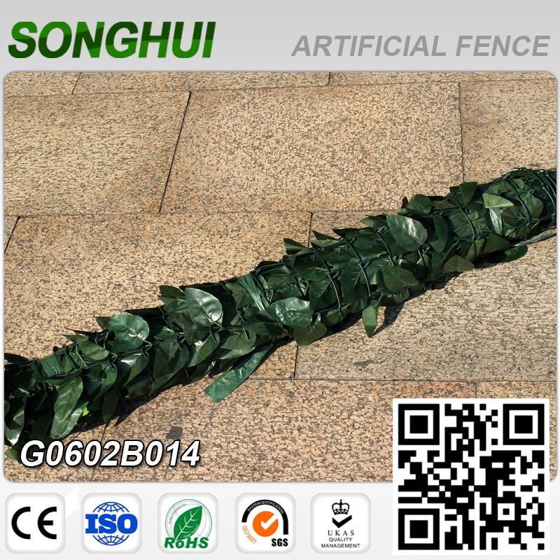 outdoor cheap artificial bamboo fencing roll for supermarket decoration