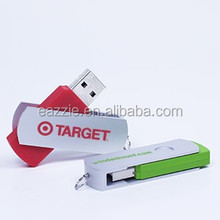 Plastic USB Flash Drives Gift USB Drives Custom Printing for Promotion