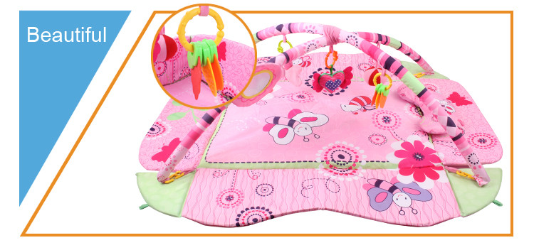 2016 new baby activity play gym softtextile baby changing mat