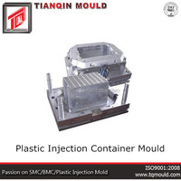 Plastic Injection Container Mould Maker
