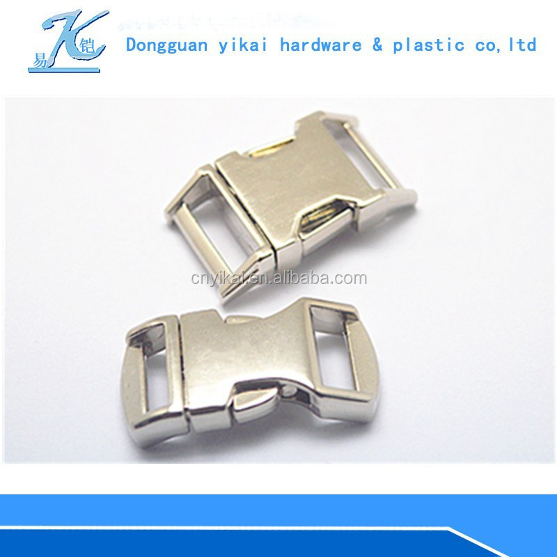 Dongguan YIKAI metal clasp for sale/ metal buckles for pet products/metal buckles for dog collar