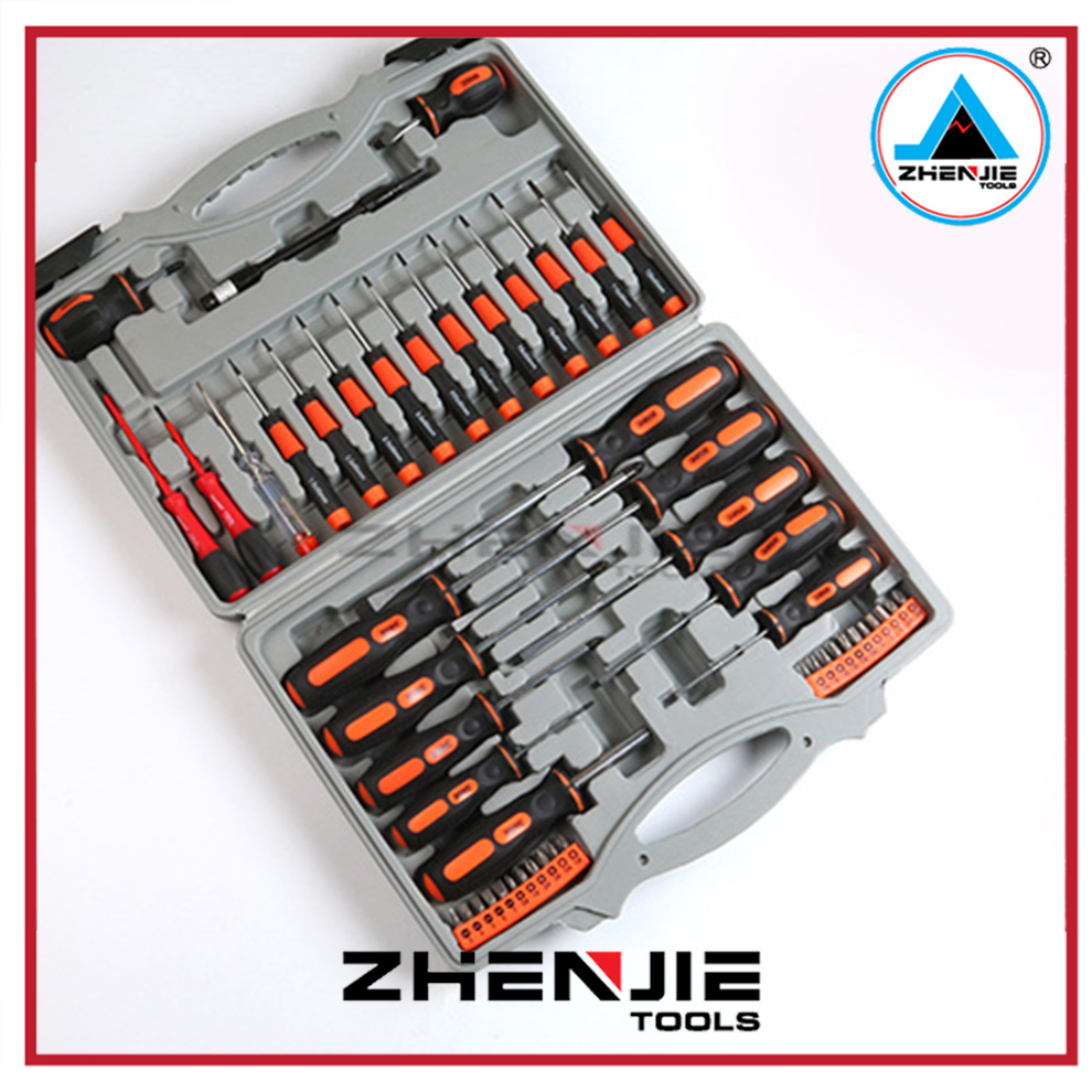 Household Multifunction Antiskid plastic box tools set